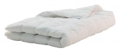 Egyszemélyes paplan nyári 130x190 cm fehér