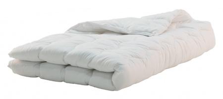 Egyszemélyes paplan normál 130x190 cm fehér
