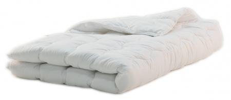 Egyszemélyes paplan téli 130x190 cm fehér